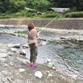 釣り女子のプロフィール画像