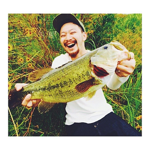 seiichiro hashiさんの投稿画像,写っている魚はブラックバス