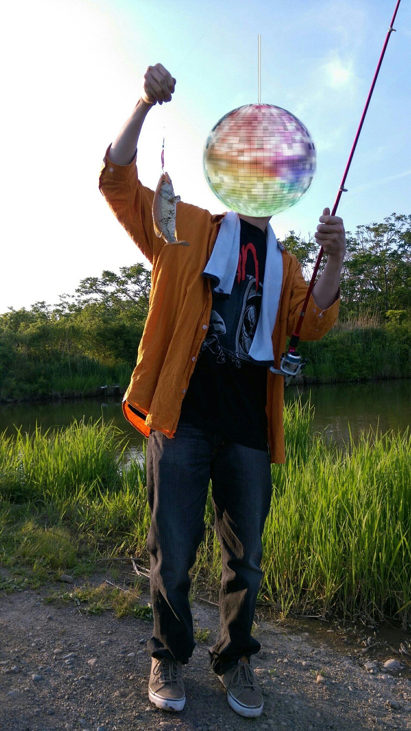 思春さんの投稿画像,写っている魚はブラックバス