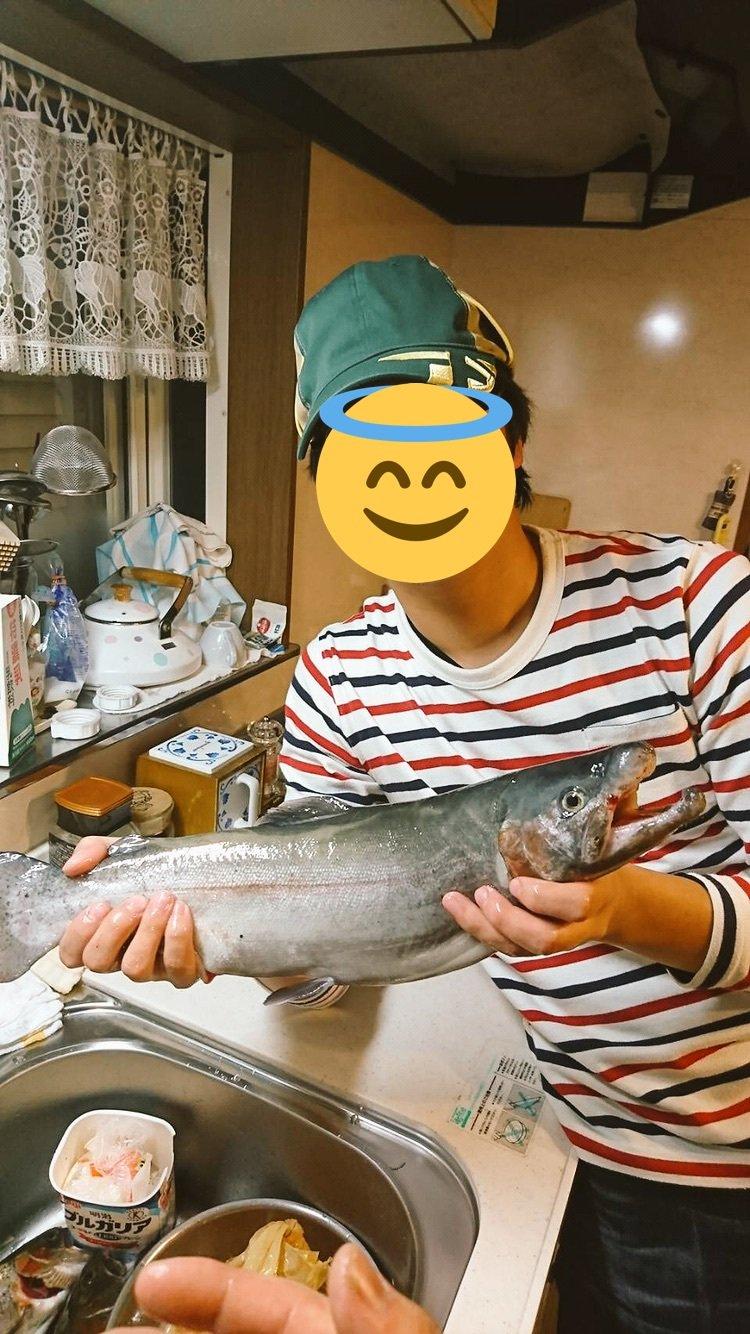 Yukiさんの投稿画像,写っている魚は