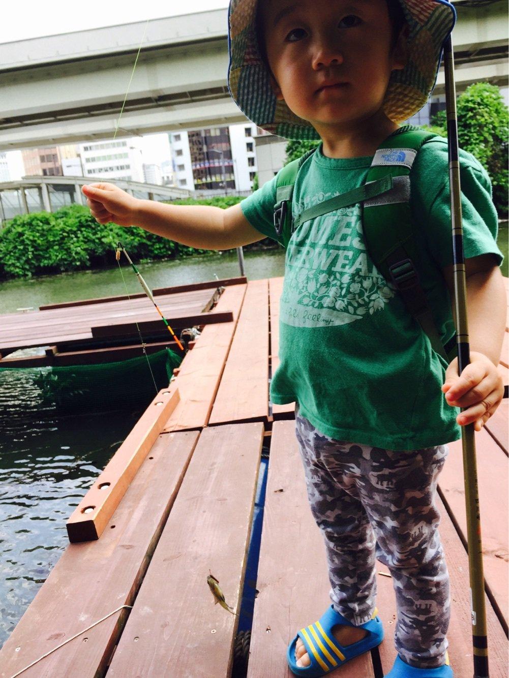 スズキ@愛宕浜さんの投稿画像,写っている魚はブルーギル