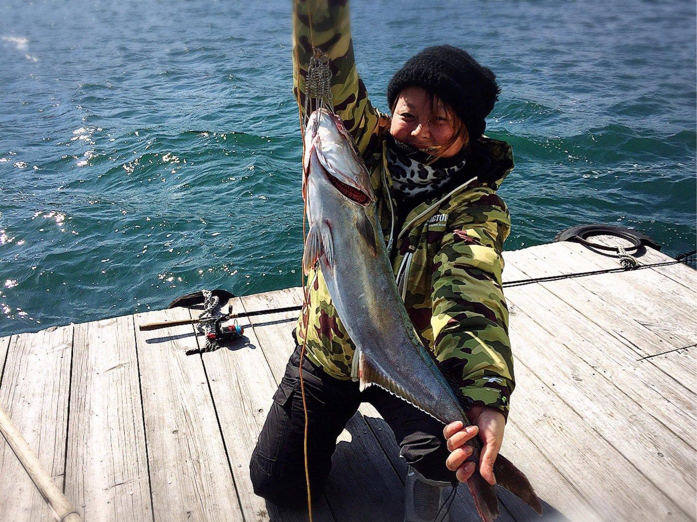 きみ☆チヌlove♡さんの投稿画像,写っている魚はカンパチ