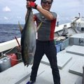 筆頭さんの沖縄県島尻郡でのキハダマグロの釣果写真