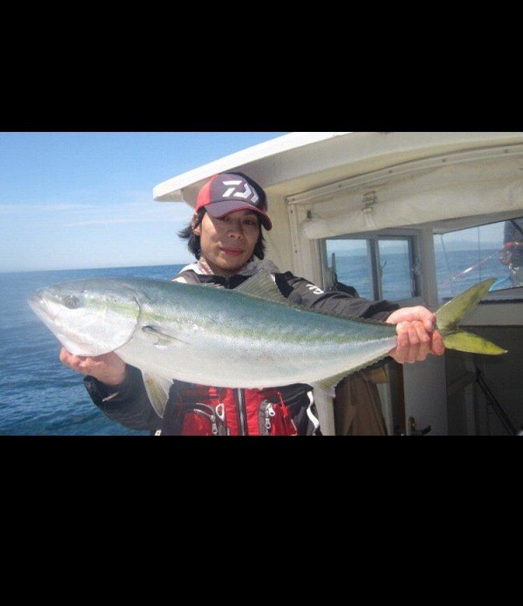 tatsukiさんの投稿画像,写っている魚はブリ