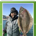 クロー・ビー・カリーさんの千葉県いすみ市でのヒラメの釣果写真