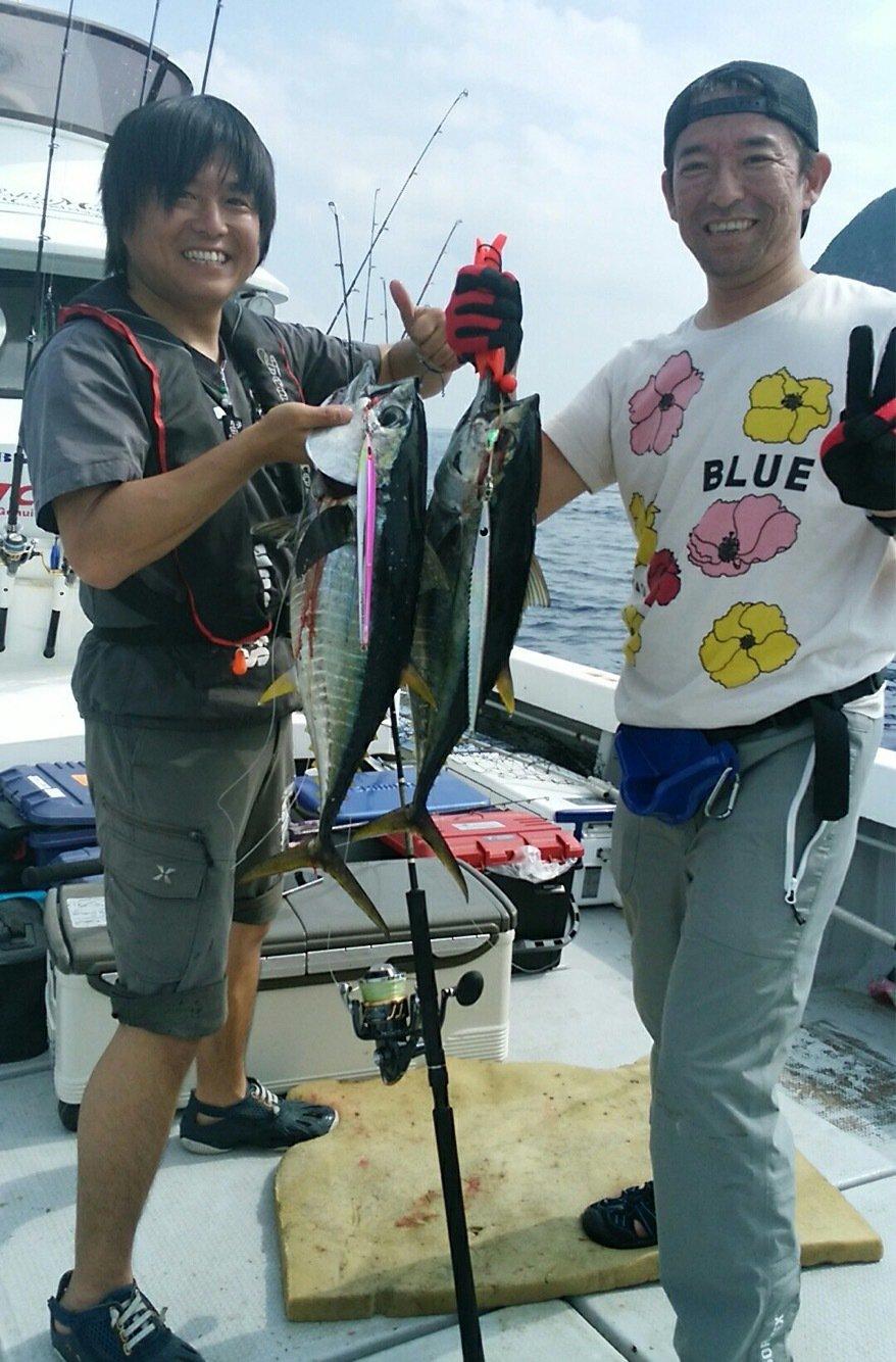 saruさんの投稿画像,写っている魚はキハダマグロ