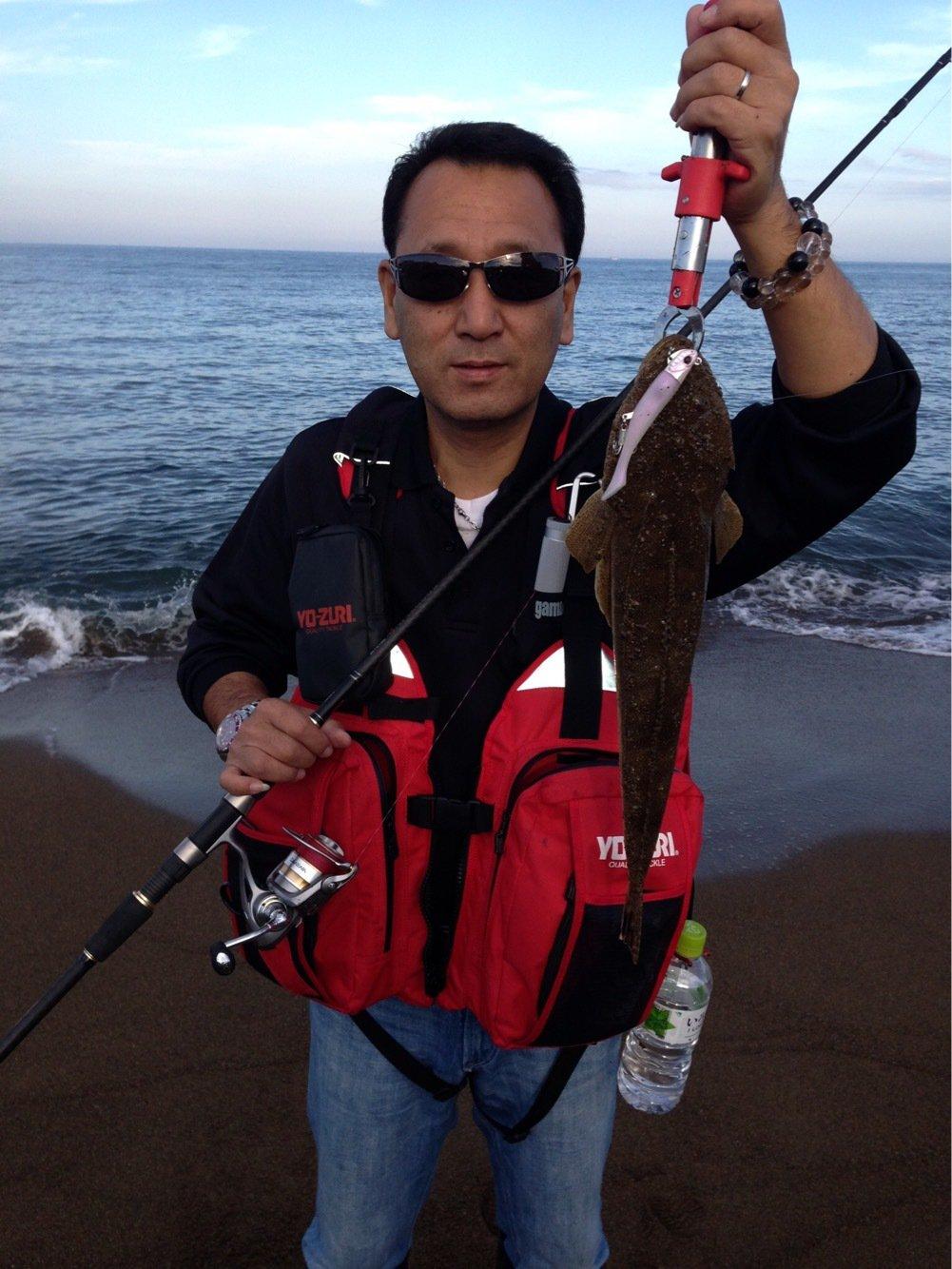 楠 雅文さんの投稿画像,写っている魚はエンマゴチ