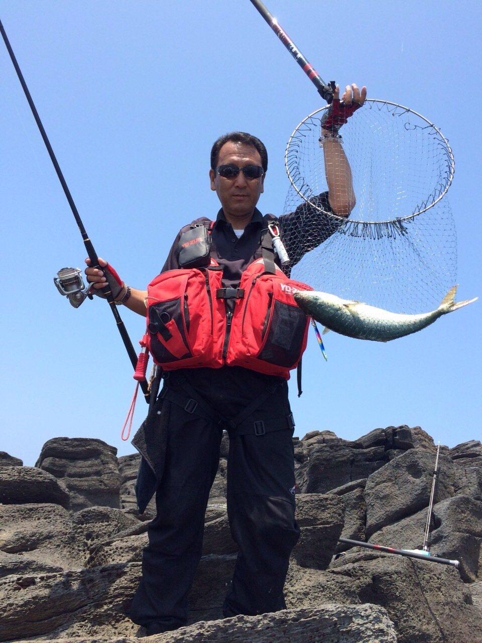 楠 雅文さんの投稿画像,写っている魚はブリ