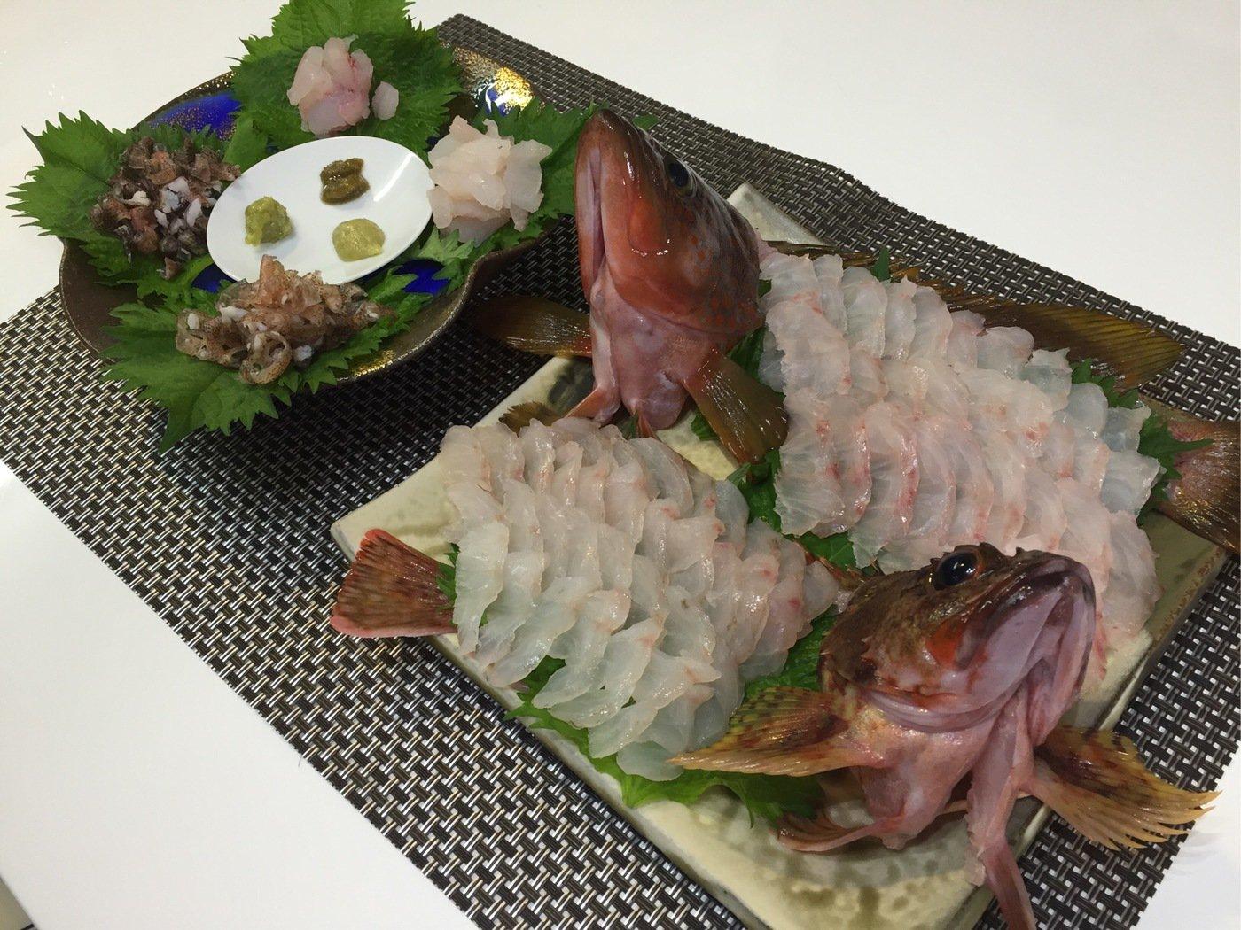 ミヤモトミチヒコさんの投稿画像,写っている魚はキジハタ