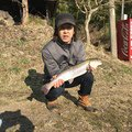 Soushi Oshiroさんの岐阜県郡上市でのニジマスの釣果写真