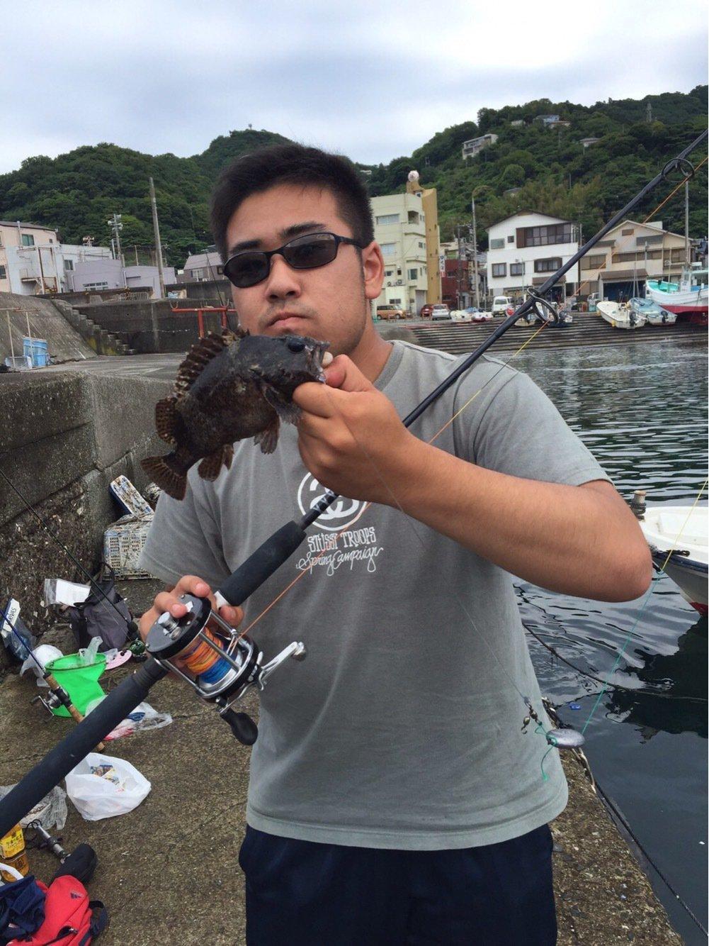 おいなりさんの投稿画像,写っている魚はムラソイ