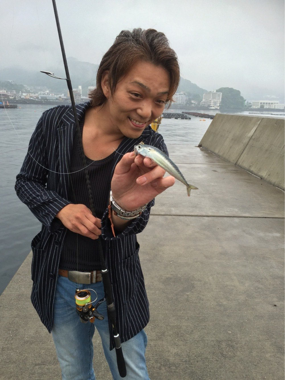 りょーへいさんの投稿画像,写っている魚はマサバ