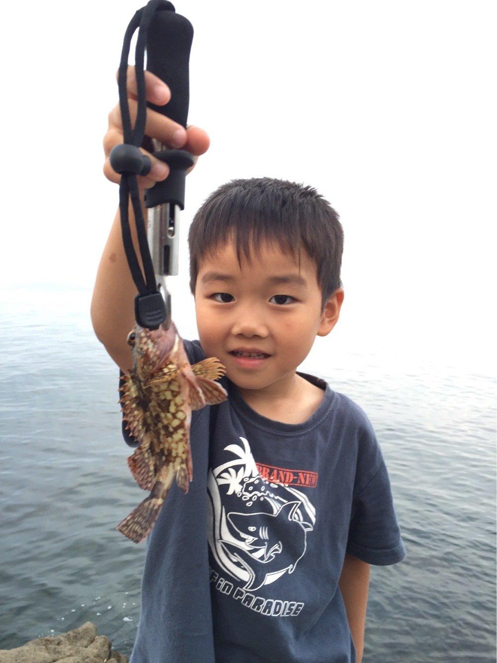 akipapaさんの投稿画像,写っている魚はカサゴ