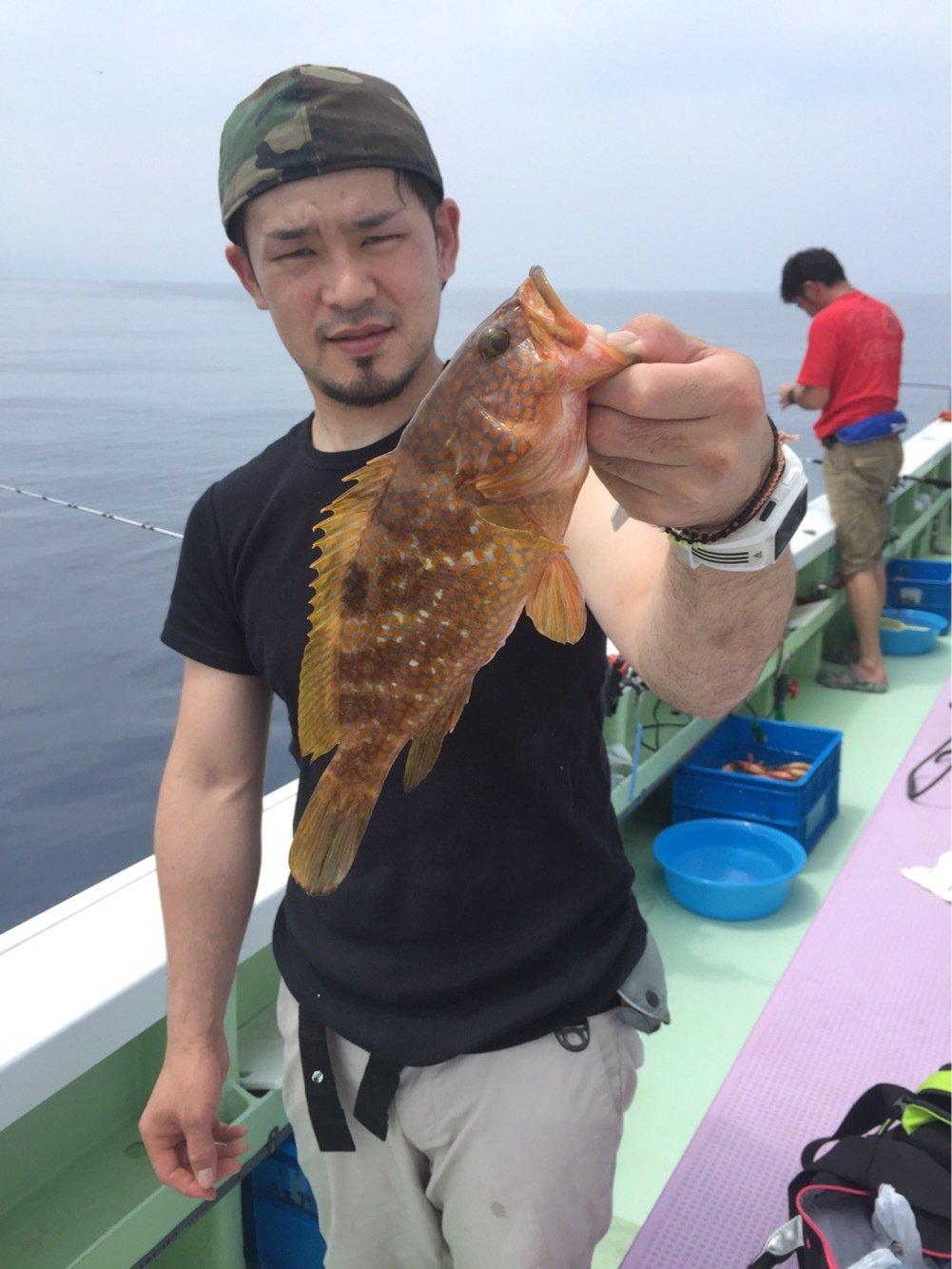 水戸 優典さんの投稿画像,写っている魚はキジハタ