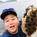 ぷーさんさんの大阪府でのヒラメの釣果写真