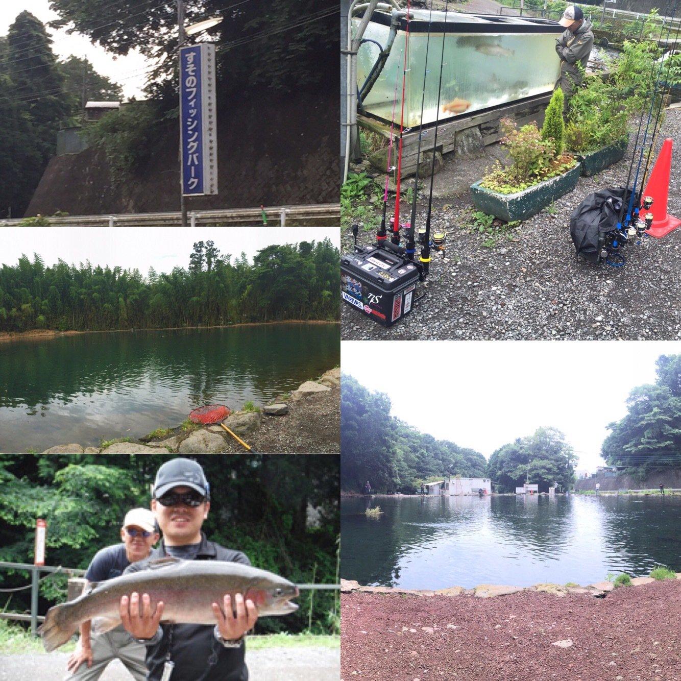 Jr.@neoSTYLEさんの投稿画像,写っている魚はニジマス