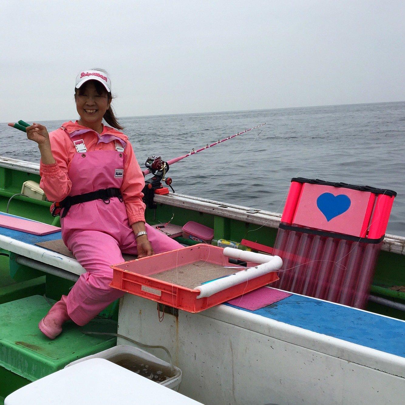 ユミさんの投稿画像,写っている魚はスルメイカ