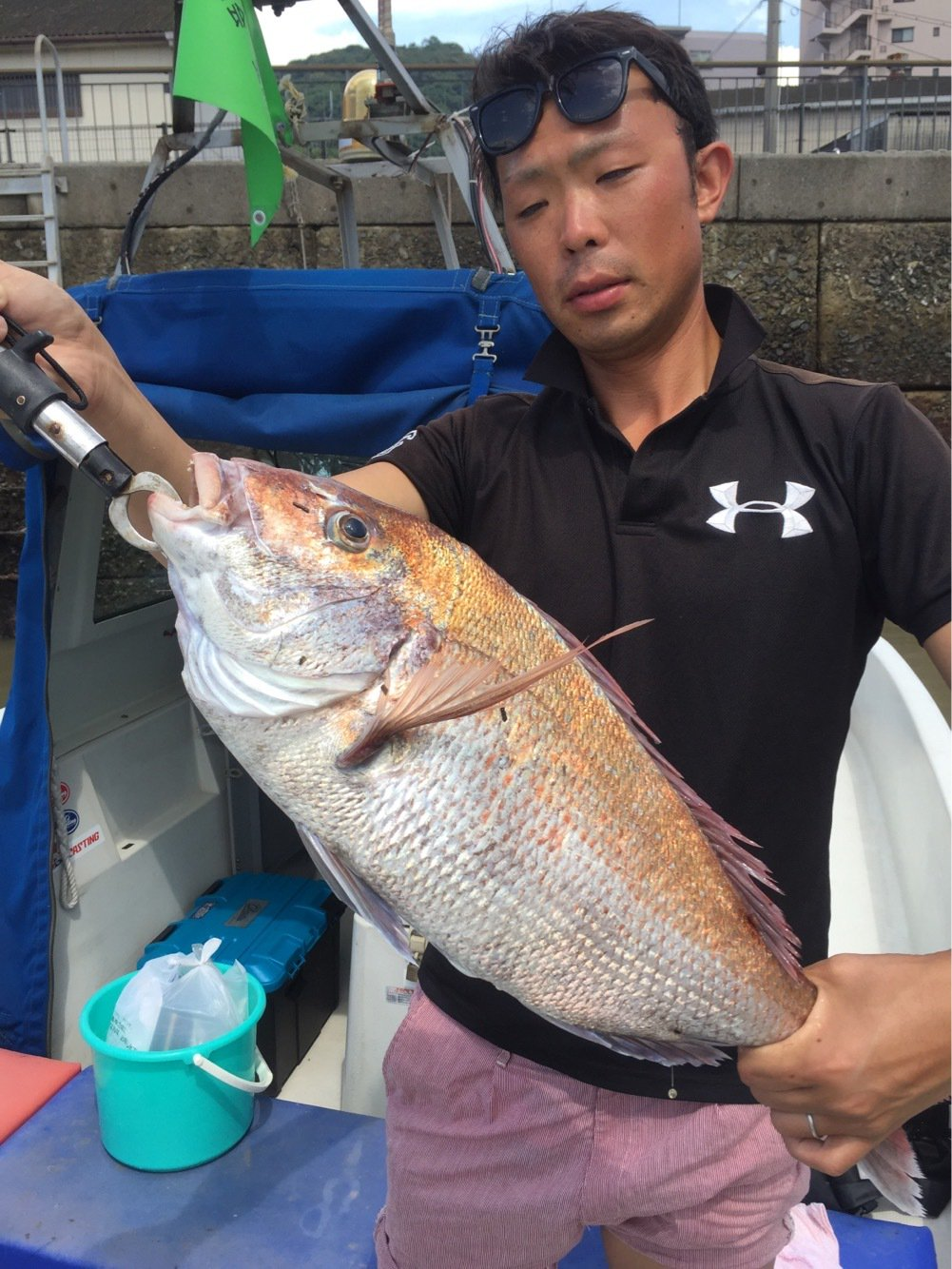 USAさんの投稿画像,写っている魚はマダイ
