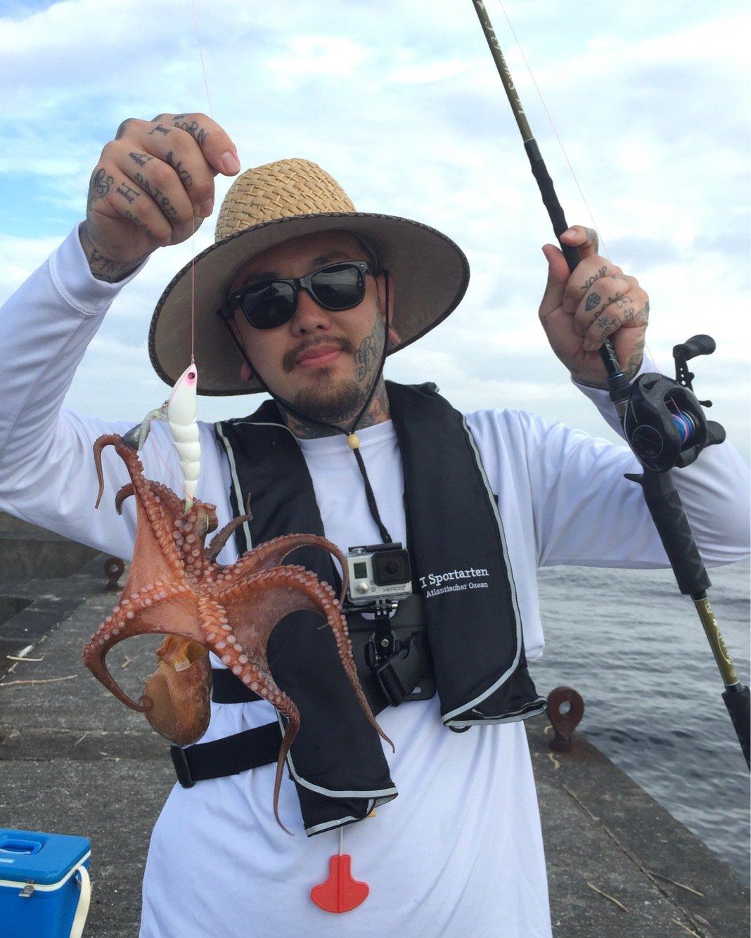 thegskさんの投稿画像,写っている魚はマダコ