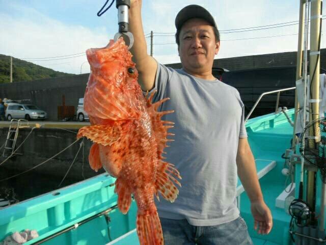 DAIさんの投稿画像,写っている魚はオニカサゴ
