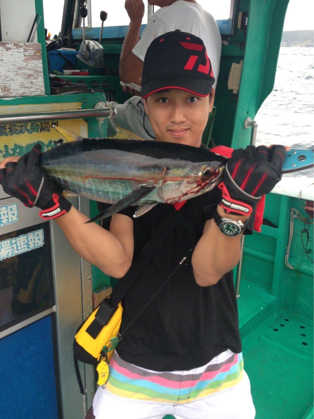 にたやさんの投稿画像,写っている魚はキハダマグロ
