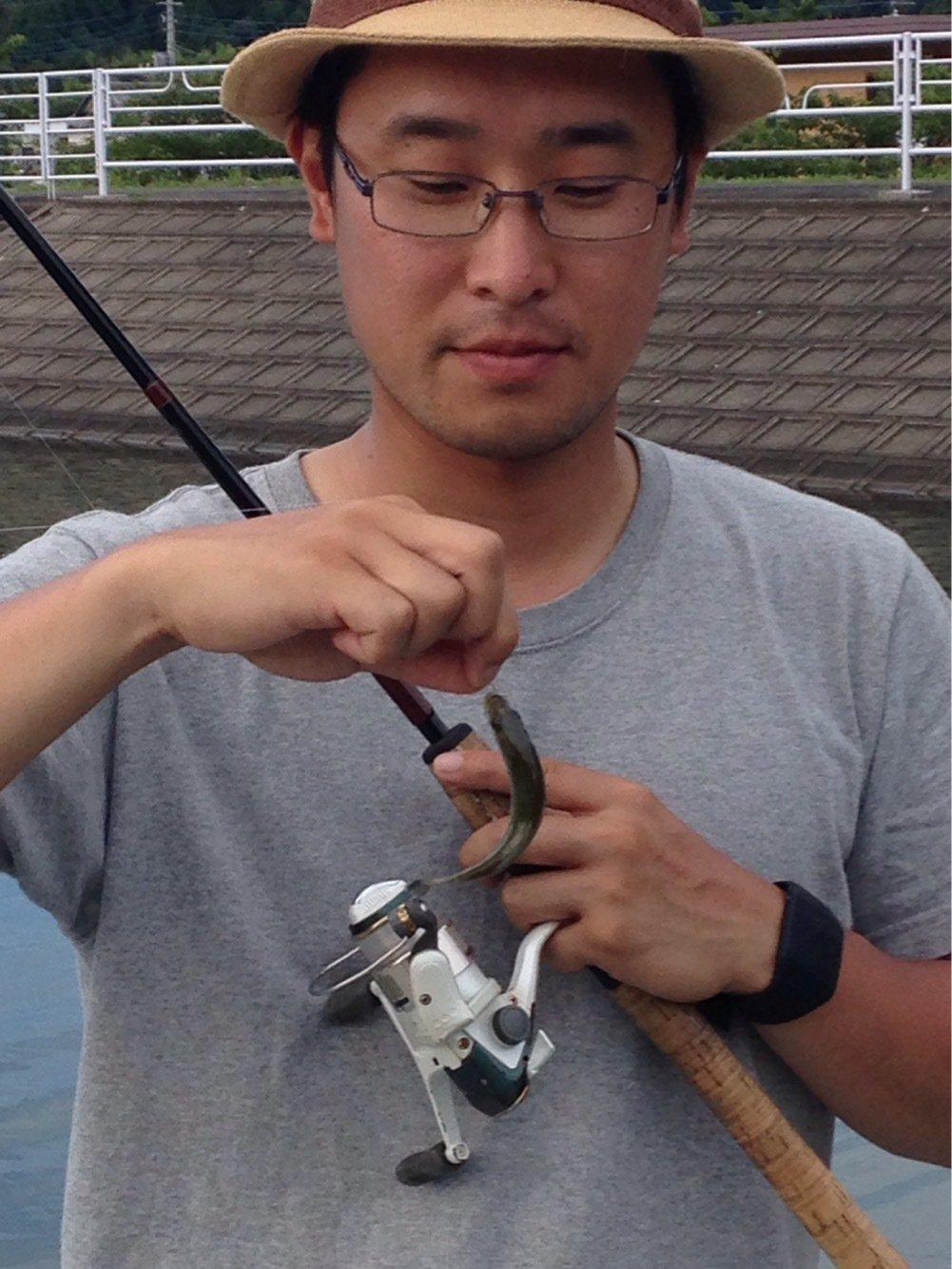 マットさんの投稿画像,写っている魚はブラックバス