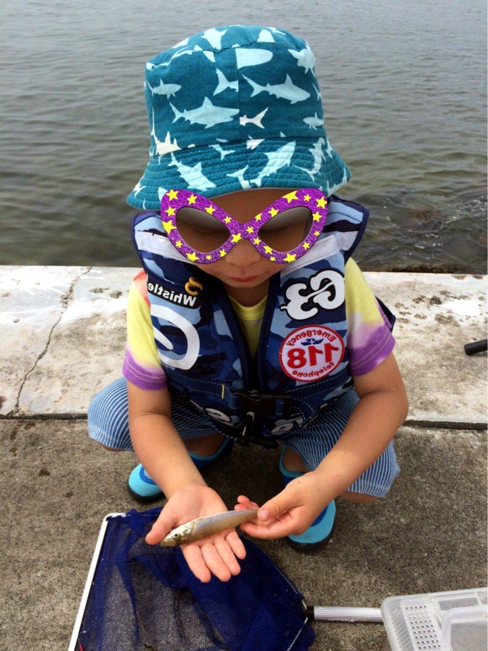 ヤスさんの投稿画像,写っている魚はシロギス