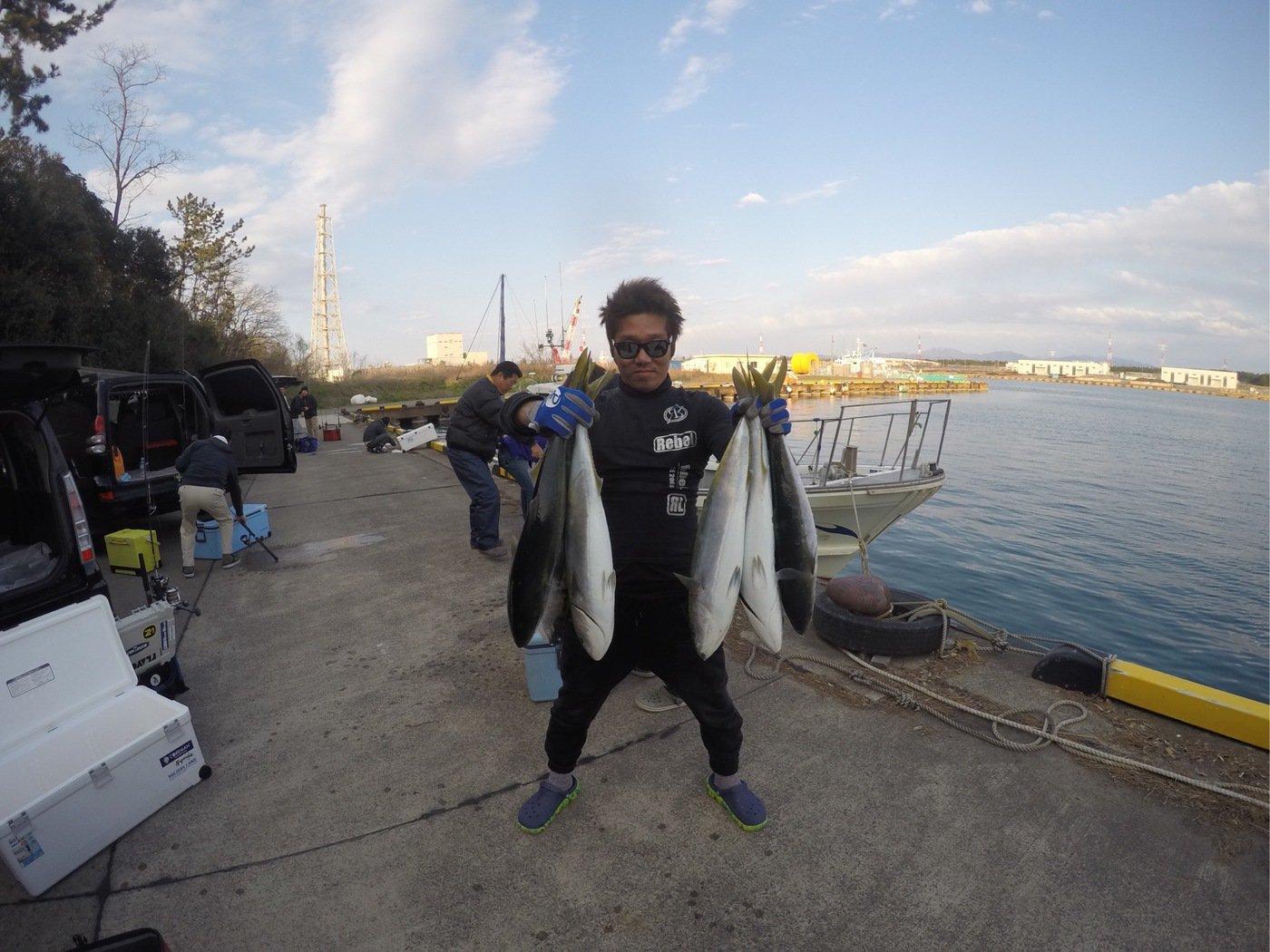 細野 隼佑さんの投稿画像,写っている魚はブリ
