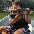 小能拓己さんの山梨県上野原市での釣果写真