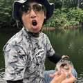 QBさんの長野県下水内郡での釣果写真