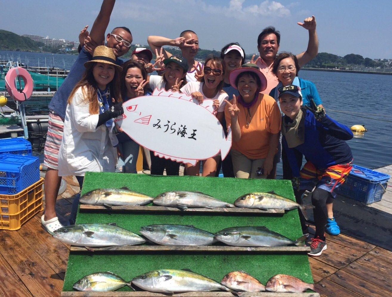ユミさんの投稿画像,写っている魚は