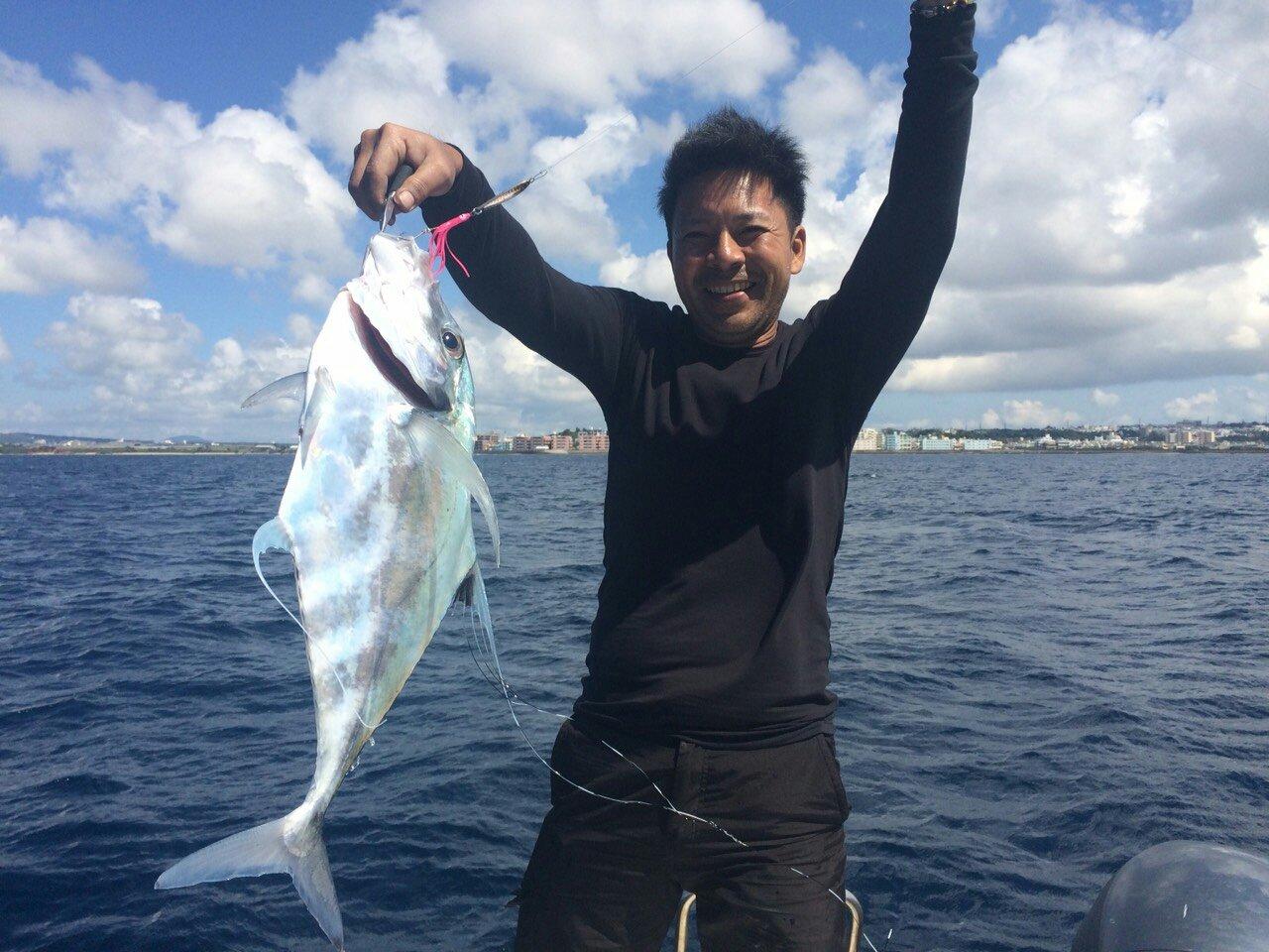 Yasuhiko Kurimaさんの投稿画像,写っている魚はイトヒキアジ