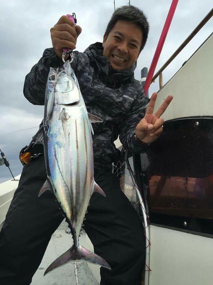 Yasuhiko Kurimaさんの投稿画像,写っている魚はカツオ