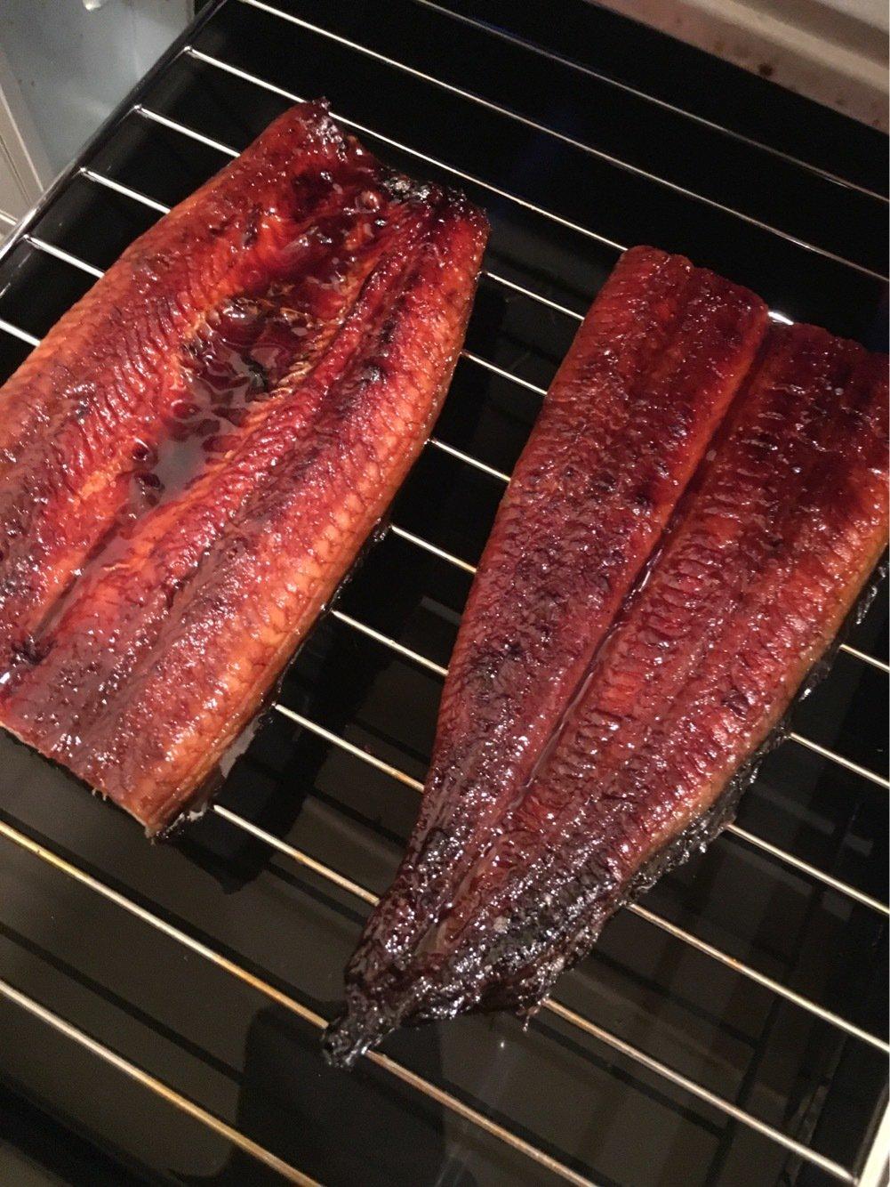 田中Pさんの投稿画像,写っている魚はウナギ