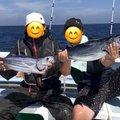 栞さんの千葉県旭市での釣果写真