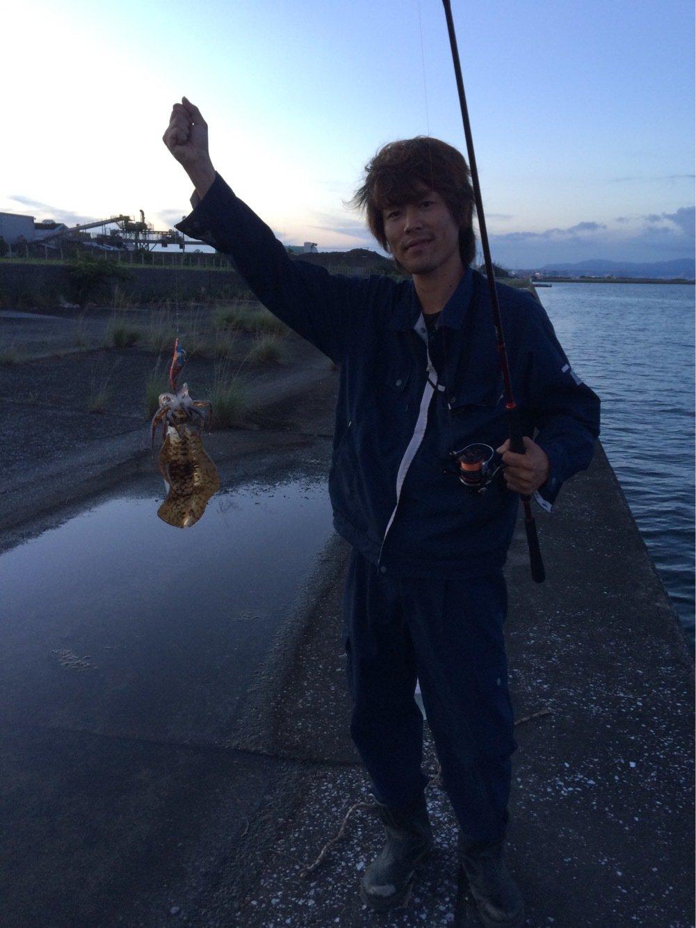 AXESさんの投稿画像,写っている魚はコウイカ
