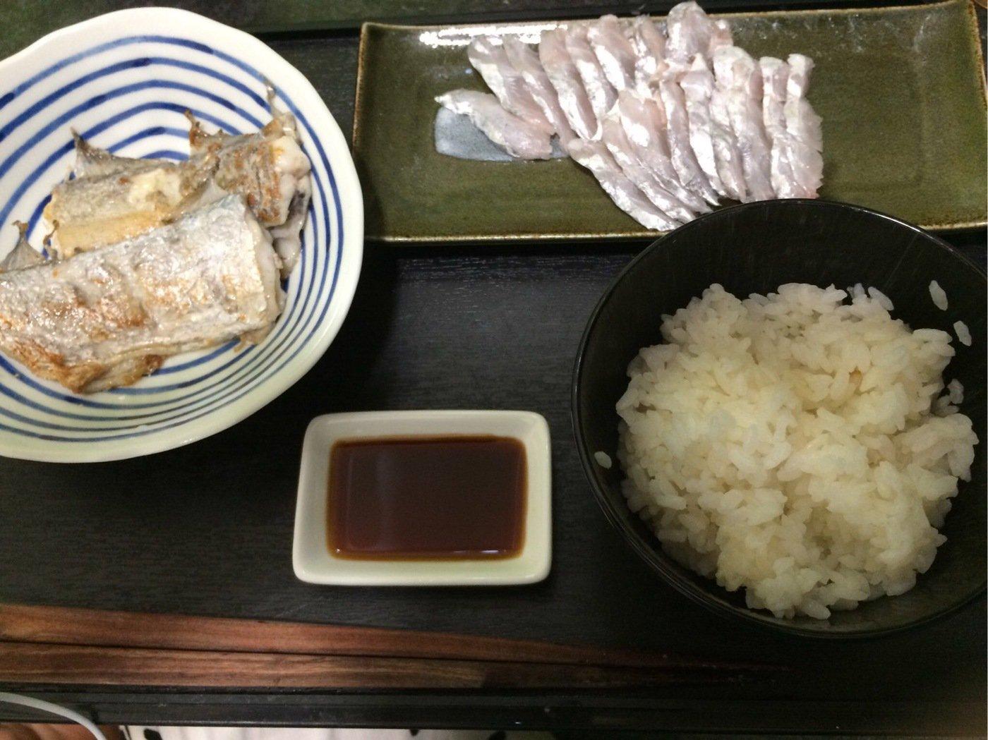 エンドウさんの投稿画像,写っている魚はタチウオ