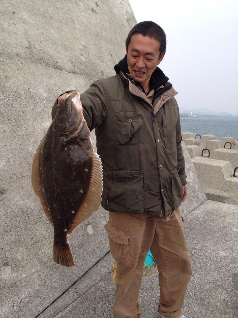 中山栄治さんの投稿画像,写っている魚はカレイ