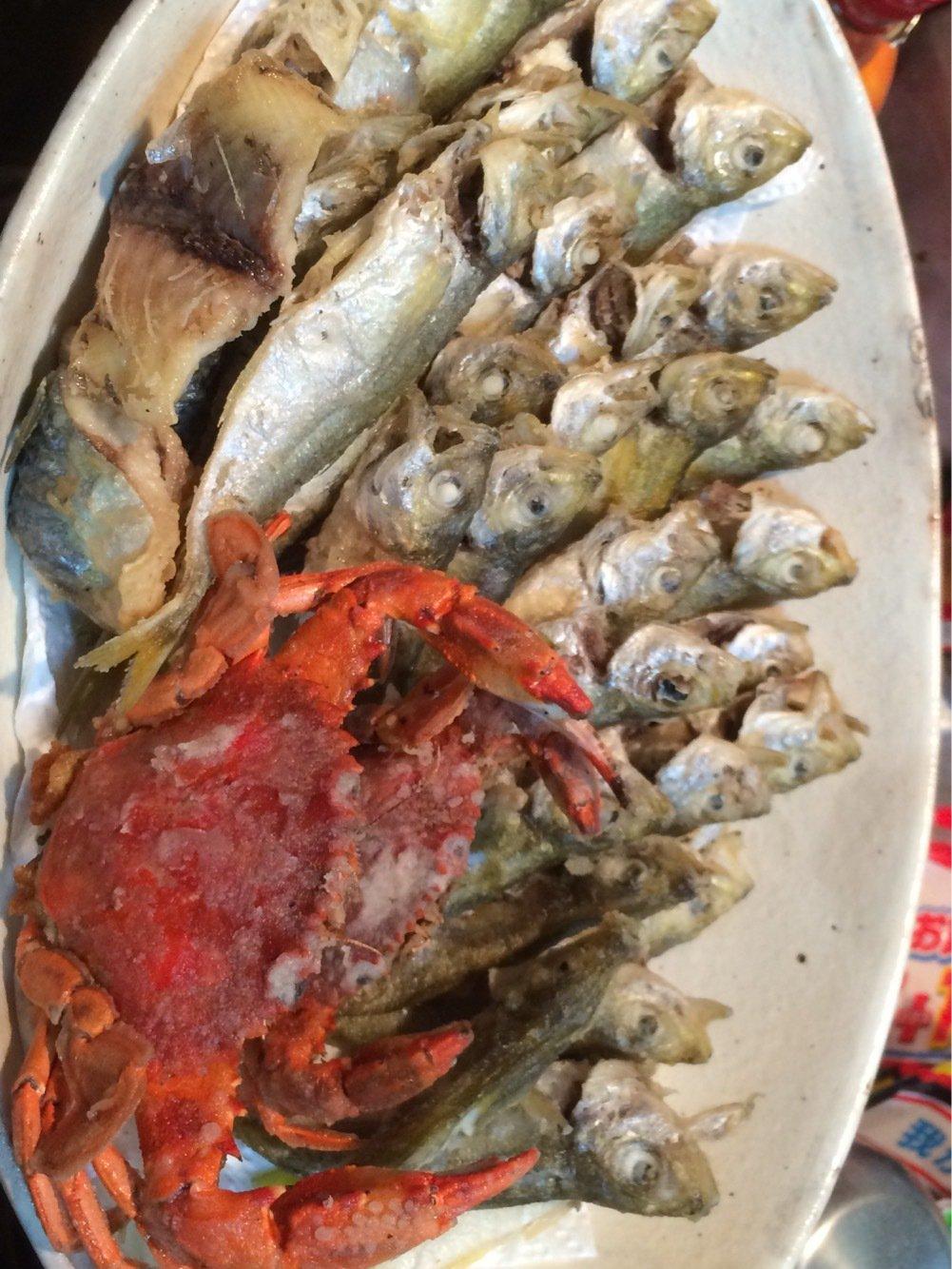 勝さんの投稿画像,写っている魚はアジ