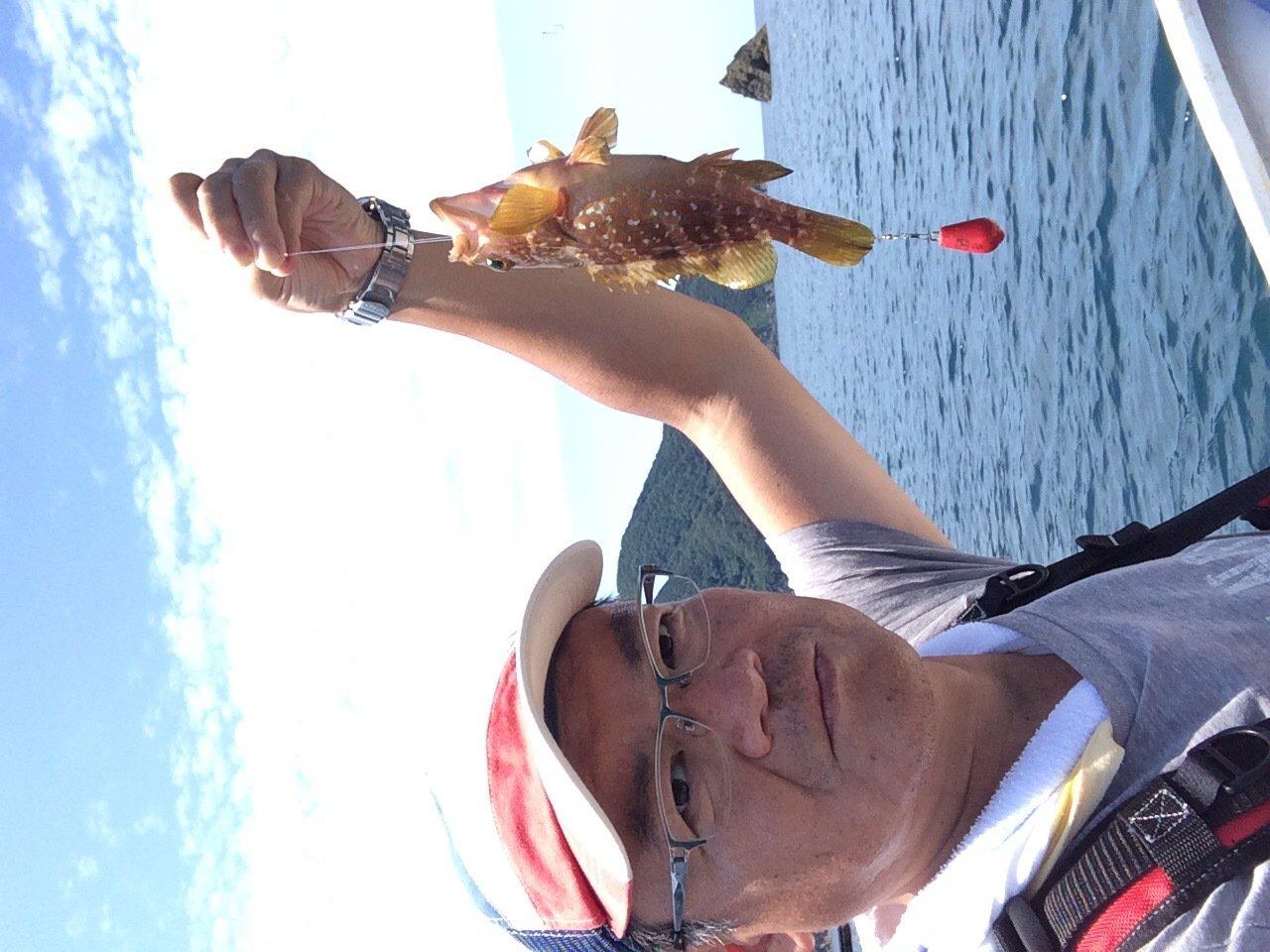 ヤスさんの投稿画像,写っている魚はキジハタ