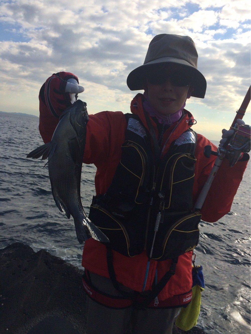 gure8さんの投稿画像,写っている魚はクロメジナ