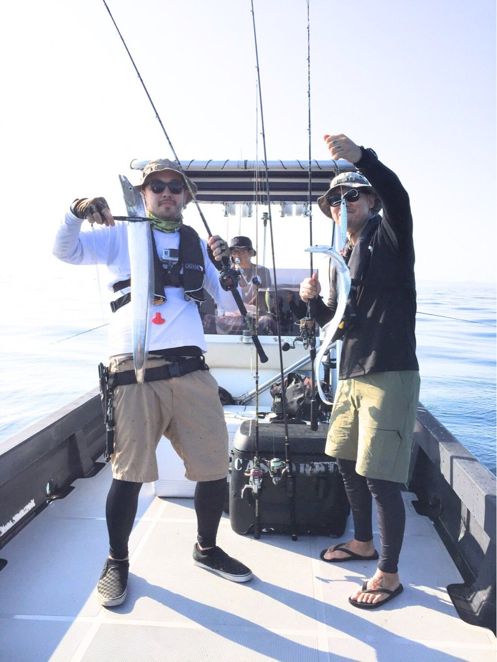 thegskさんの投稿画像,写っている魚はタチウオ