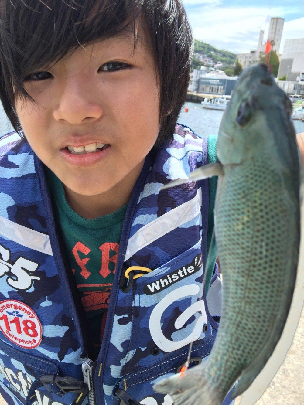 はにおさんの投稿画像,写っている魚はメジナ
