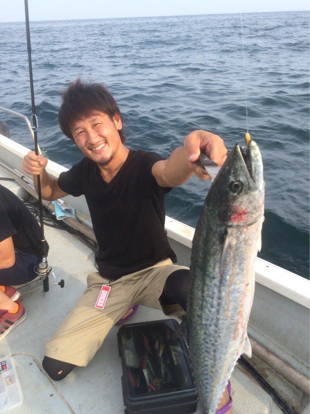 さくらさんの投稿画像,写っている魚はサワラ