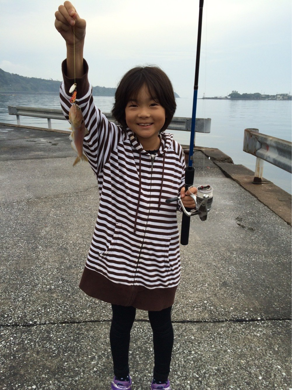 健太郎さんの投稿画像,写っている魚はエソ