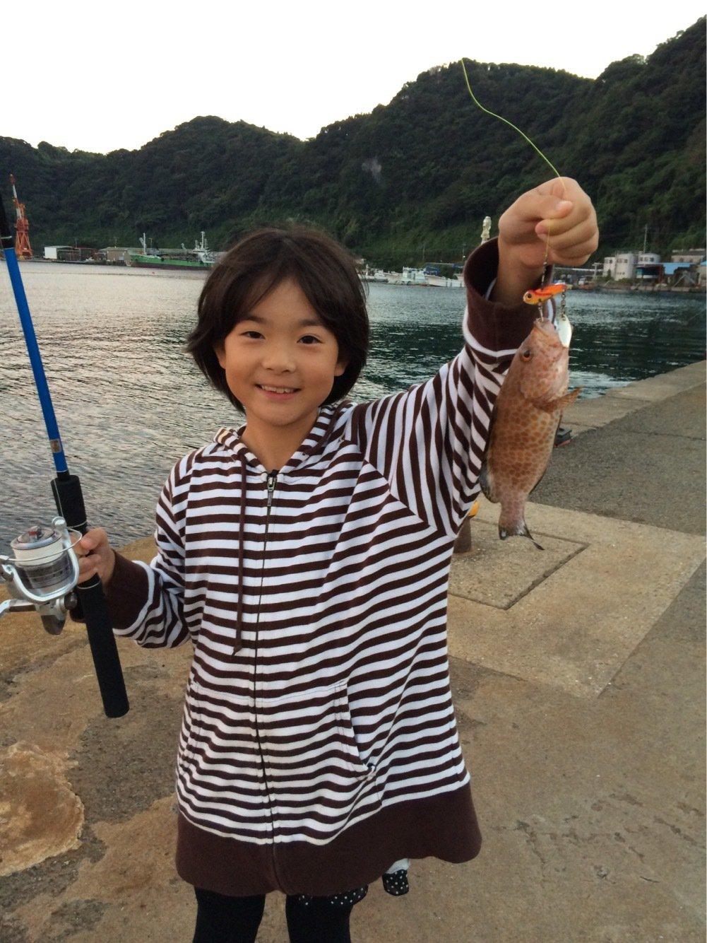 健太郎さんの投稿画像,写っている魚はキジハタ