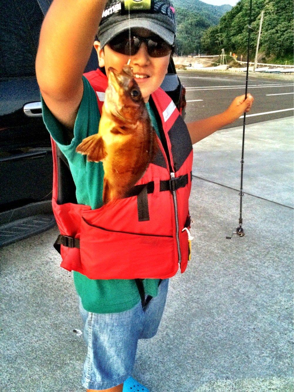 takasixさんの投稿画像,写っている魚はメバル