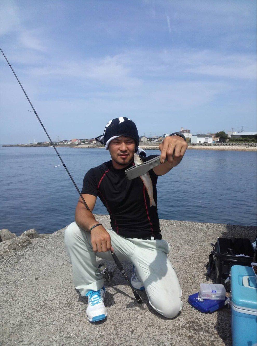 水戸 優典さんの投稿画像,写っている魚はシロギス