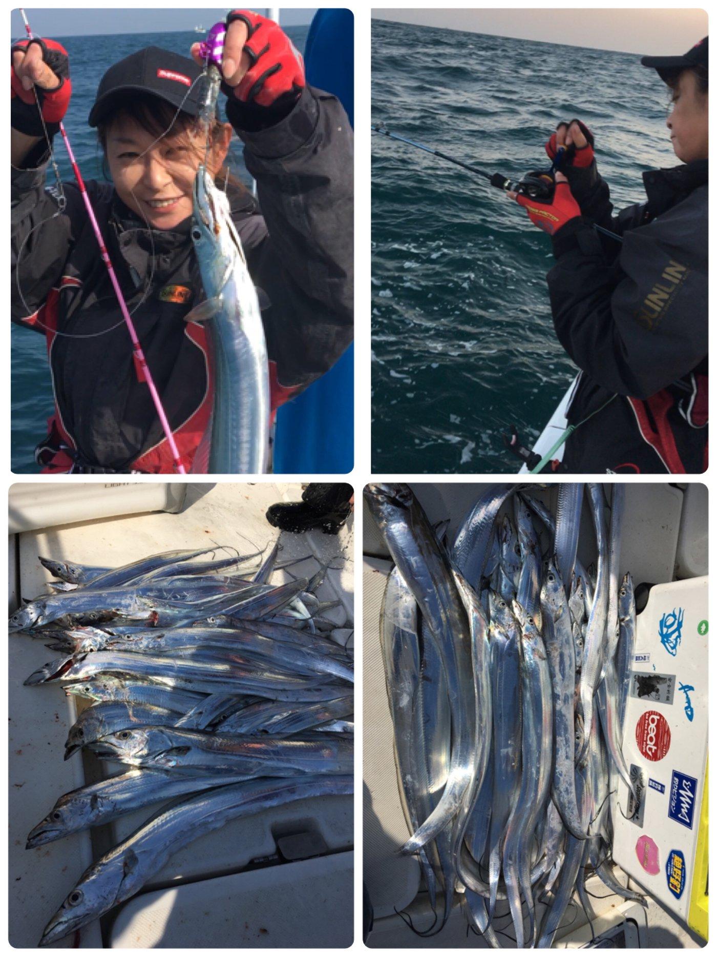 michiさんの投稿画像,写っている魚はタチウオ