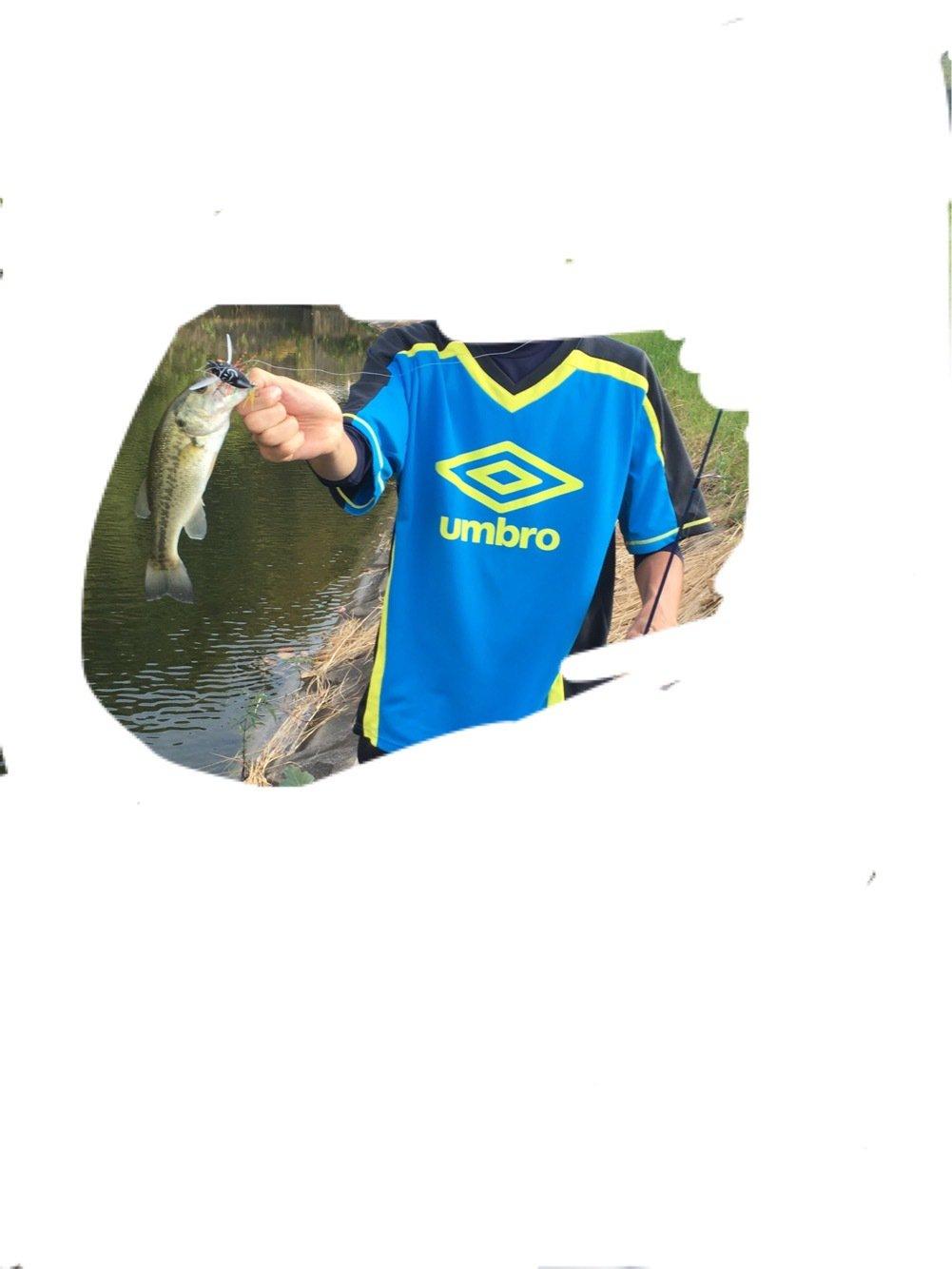 フッキングほうまさんの投稿画像,写っている魚はブラックバス